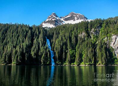 Photograph - Southeast Alaska Waterfall by Robert Bales