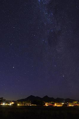 Photograph - Southeast Desert Night by Tony Beck