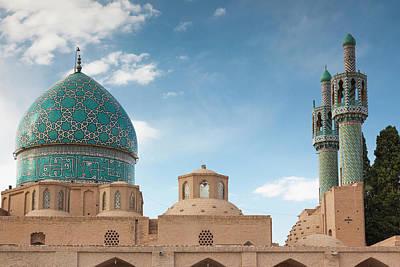 Dervishes Photograph - Southeastern Iran, Mahan, Aramgah-e by Walter Bibikow