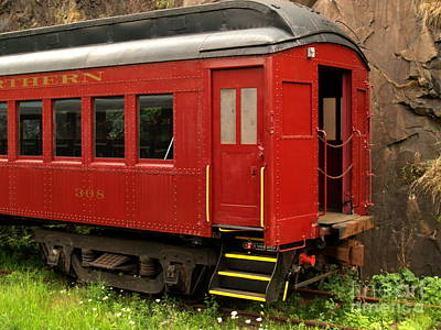 Southern And Northern Rail Car -- Jim Thorpe Pa Art Print