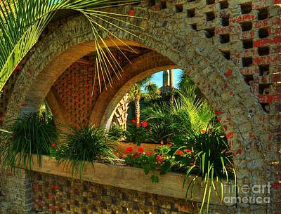 Southern Arches Art Print by Mel Steinhauer