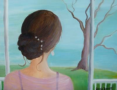 Southern Belle Art Print by Glenda Barrett