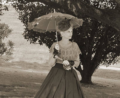 Photograph - Southern Belle Vintage Look by Helen Haw