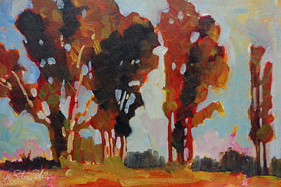Painting - Southern Boundry by Len Stomski