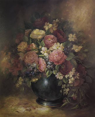 Painting - Southern Bouquet by Nancy Gorr