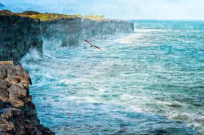 Photograph - Southern Cliffs by Jim Thompson