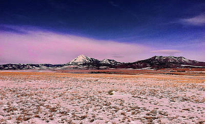 Photograph - Southern Colorado Mountains by Ron Roberts