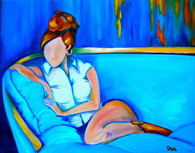 Pople Painting - Southern Comfort by Debi Starr