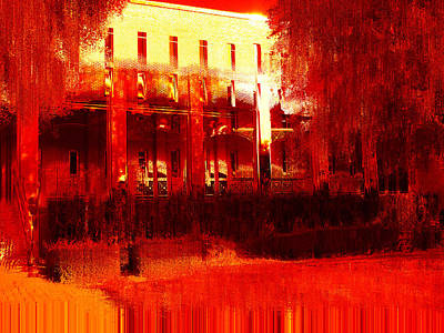 Burnt Digital Art - Southern Extremes by Wendy J St Christopher