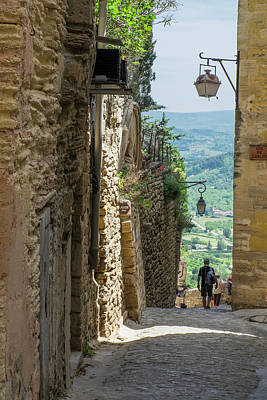 Provence Photograph - Southern France, Provence, Bonnieux by Emily Wilson