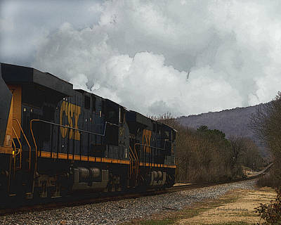 Photograph - Southern Freight Train by TnBackroadsPhotos
