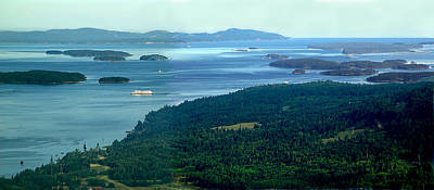 Photograph - Southern Gulf Islands Of Bc by George Cousins