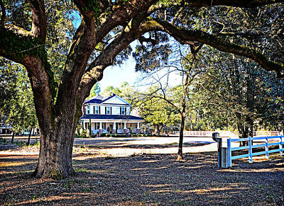 Photograph - Southern Homestead by Linda Brown