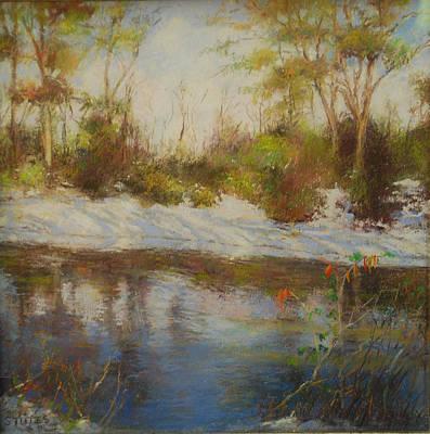 Southern Landscapes   Art Print by Nancy Stutes