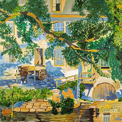 Southern Life By Stan Bialick Art Print by Sheldon Kralstein