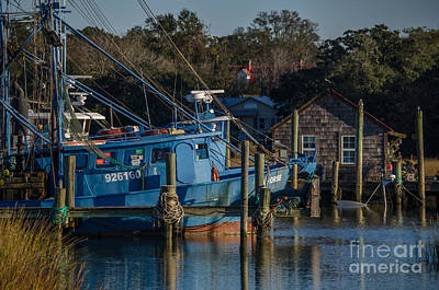 Shem Creek Photograph - Southern Lifestyle by Dale Powell