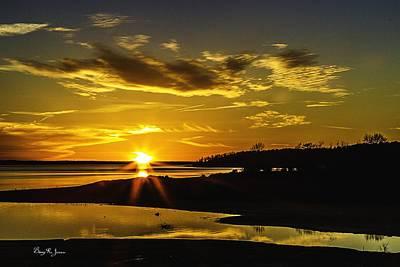 Photograph - Southern Lights-2 by Barry Jones