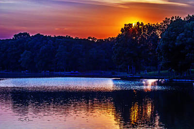Photograph - Southern Lights by Barry Jones
