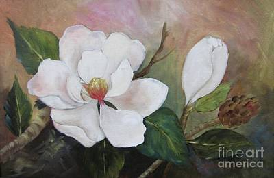 Southern Magnolias II By Barbara Haviland Art Print