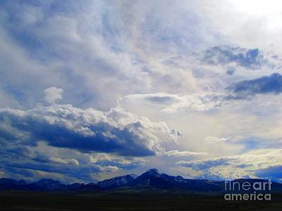 Southern Montana Mountainscape 1 Art Print