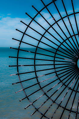 Photograph - Southern Most Point Fence by Brenda Jacobs
