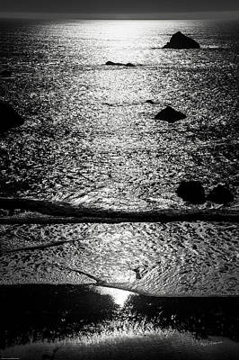 Photograph - Southern Oregon Coast Monochrome by Mick Anderson