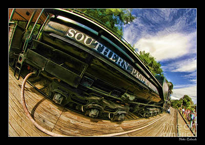 Photograph - Southern Pacific 2472 Steam Engine 1921 Sunol Station by Blake Richards