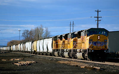 Southern Pacific Loading Up Art Print