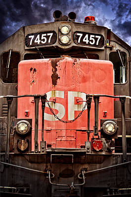 Photograph - Southern Pacific Power by Ken Smith