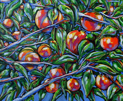 Southern Peaches Original by Tami Curtis