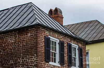 Photograph - Southern Rooftops by Dale Powell