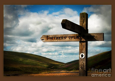 Southern Uplands Wall Art - Photograph - Southern Upland Way by Dominique De Leeuw