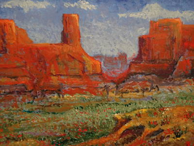 Southern Utah In The Spring Art Print by Paul Benson