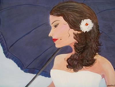 Painting - Southern Woman by Glenda Barrett