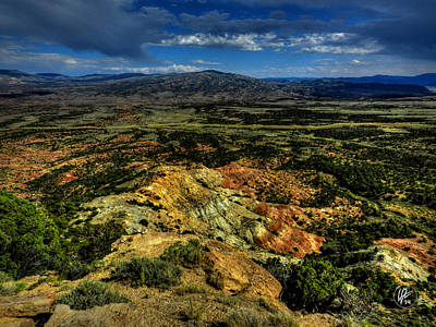 Photograph - Southern Wyoming 009 by Lance Vaughn