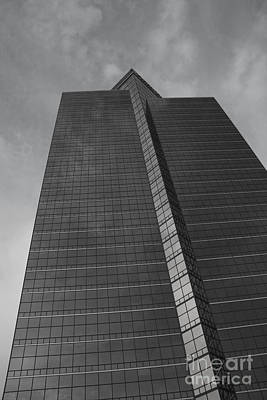 Photograph - Southfield Hi Rise Black And White by Bill Woodstock