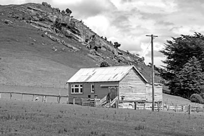 Photograph - Southland Farmhouse by Nicholas Blackwell