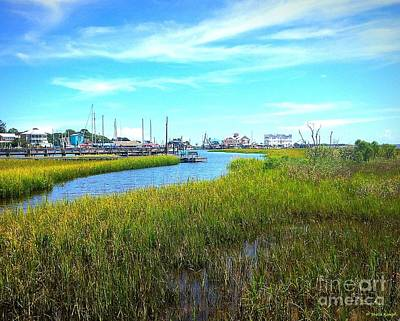 Photograph - Southport Marsh by Shelia Kempf