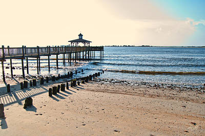 Photograph - Southport Morning by Paulette B Wright