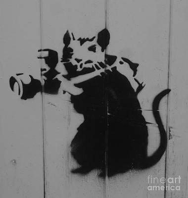 Southport Mouse Art Print by C Lythgo