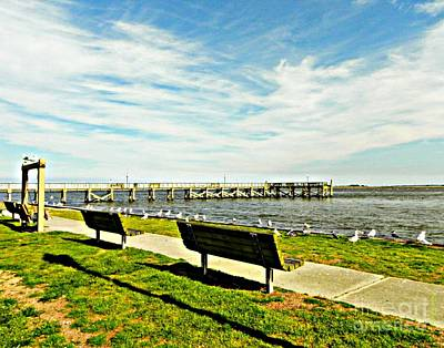 Southport Waterfront Art Print