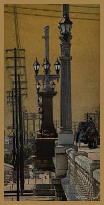 Southside Bridge Art Print by Bill Jonas