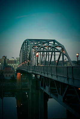 Virginia Photograph - Southside Bridge  by Shane Holsclaw