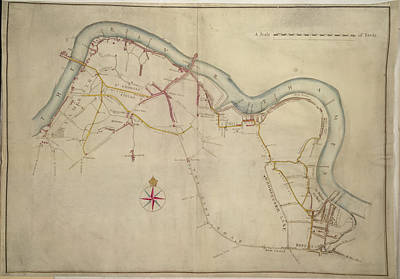 Vellum Photograph - Southwark by British Library