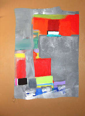 Painting - Southwest Abstract by Paul Miller