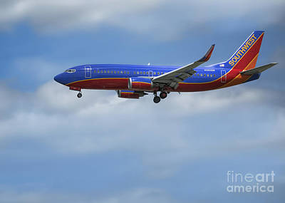 Photograph - Southwest Airlines Jet by D Wallace