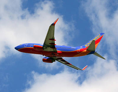 Photograph - Southwest Airlines by Joseph C Hinson Photography