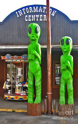 Photograph - Southwest Aliens by Gregory Dyer