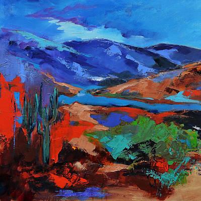 Painting - Southwest Arizona Trail by Elise Palmigiani