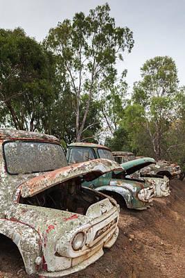 Old Trucks Photograph - Southwest Australia, Boyup Brook, Old by Walter Bibikow